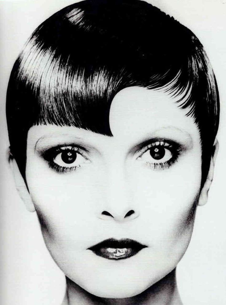 Sassoon's geometric styles became a hallmark of his brand. This cut by Christopher Brooker, Sassoon's creative director for 20 years, carrie...