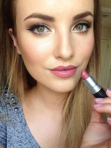 Mac Mehr Lipstick Hair Makeup Nails Pinterest Mac