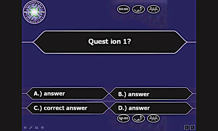 The Exciting Who Wants To Be A Millionaire Powerpoint Youtube Regarding Within Who Wants To Be A Mi Powerpoint Powerpoint Templates Powerpoint Game Templates