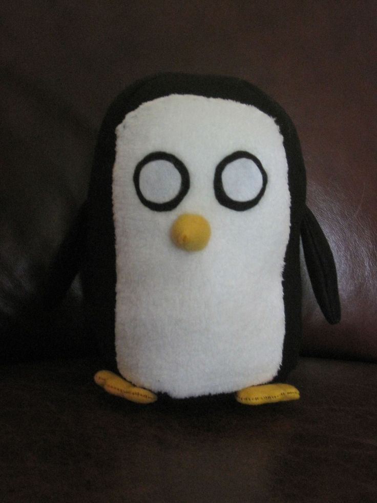 Plush Gunter  •  Make a penguin plushie