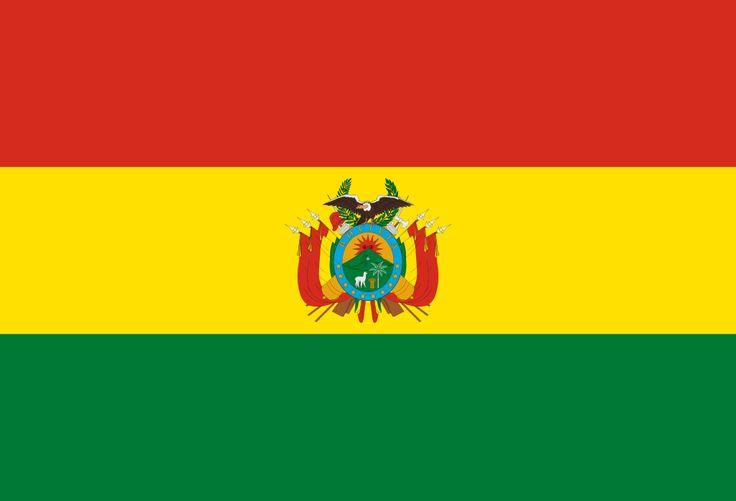 Flag of Bolivia (state) - Galeria de bandeiras nacionais – Wikipédia, a enciclopédia livre