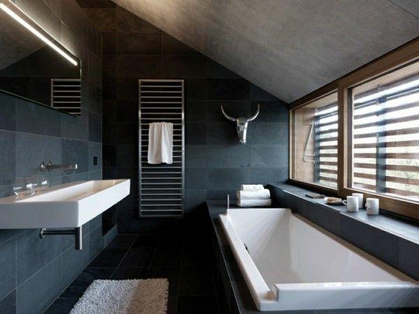 Schwarzes Badezimmer 5 Vorteile Und 50 Ideen Badezimmer Design Badgestaltung Und Luxus Badezimmer