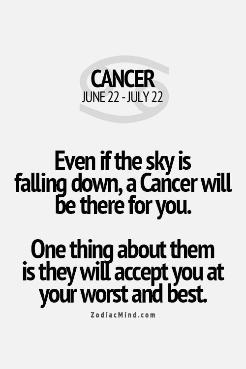 Cancer... I'm not sure how accurate this is but still...