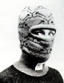 Balaklava(1986) wool  ROSEMARIE TROCKEL