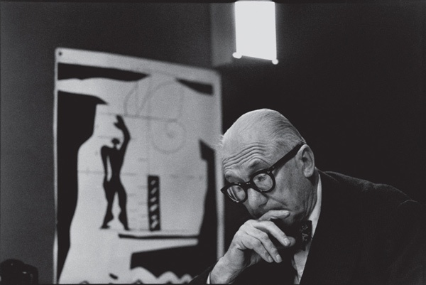 Le Corbusier | Photographed by René Burri | Paris, 1960