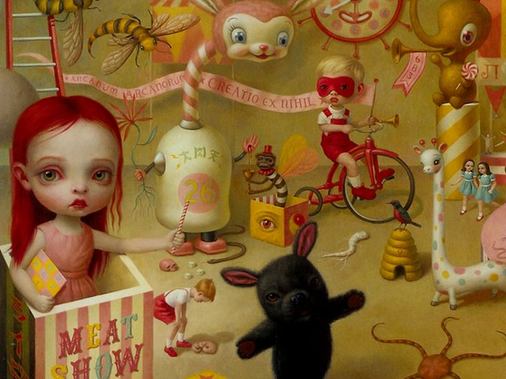 Mark Ryden Wallpaper | Article : Mark Ryden | CustomVector