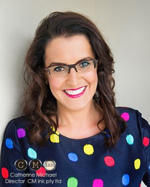 Director CM Ink Communications & Marketing. Catherine wanted something professional and less standard corporaty for her updated headshots. So DIVINE - Corporate head shots with STYLE Brisbane Photographer