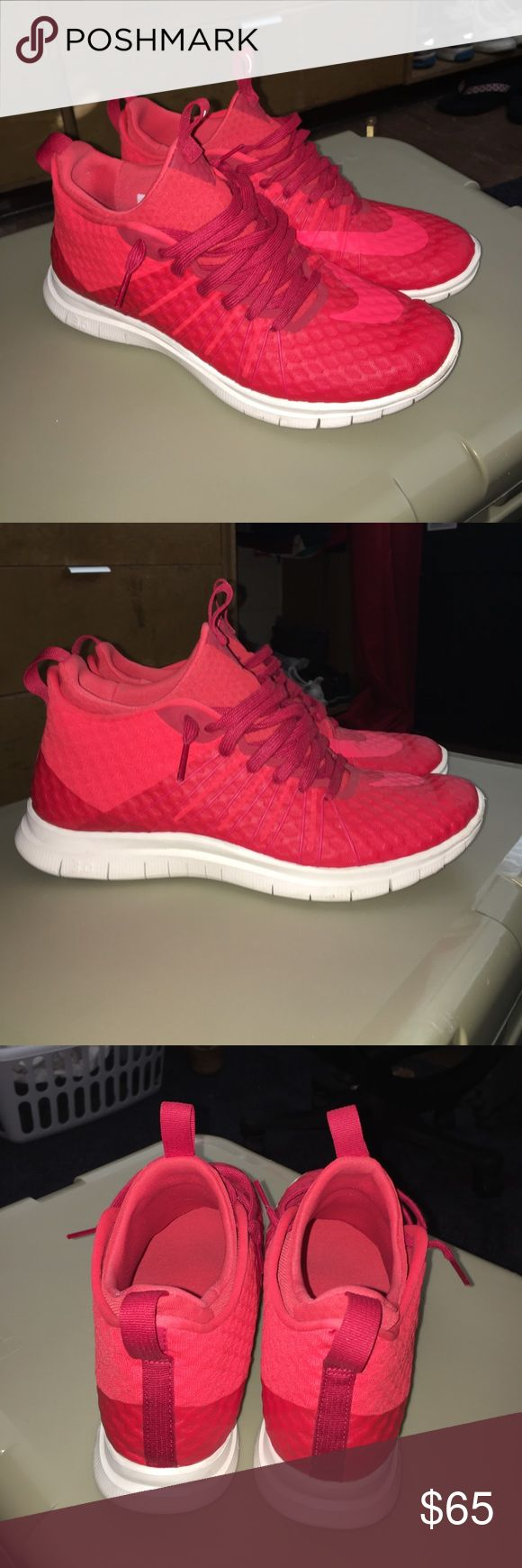 all red nike basketball shoes ntc training