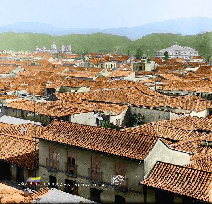 Caracas cuando era la ciudad de los techos rojos