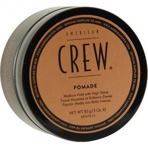 Beauty-American Crew Hair Stlying Pomade, 3 Ounce-Pomade for Hold and Shine Gives excellent hold, shine and control Great for controlling curly or straight hair.-Beauty Tools & Accessories- Dhaasuproducts.com