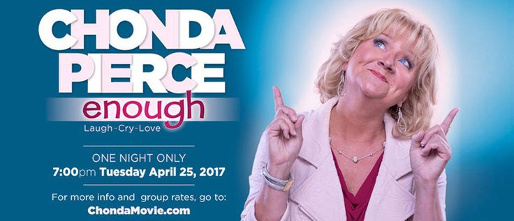 Chonda Pierce: Enough, the Movie Tickets, Tue, Apr 25, 2017 at 7:00 PM in Wichita Falls, TX | iTickets