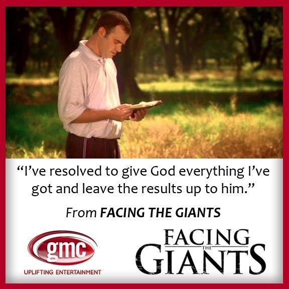 Facing the Giants   Movie quotes. <3   Pinterest