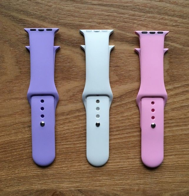 Here is an inexpensive alternative to the Apple Watch Sport Band.