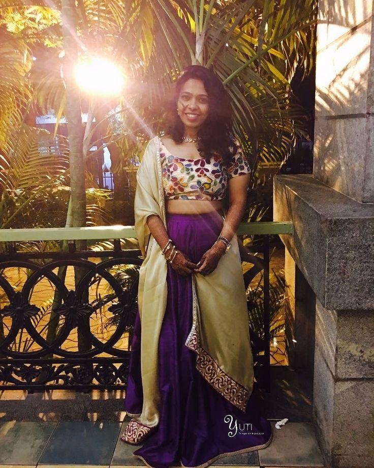 Lady as radiant as the sunshine behind her posing in an outfit by YUTI! For Price and Other details reach us at 044-42179088 or Whatsapp: 7010905260 Address: 21, Valmiki  street, Thiruvanmyur, Chennai.  #yutiforbrides #YUTIDesignerHouse #yuti #yutiforbridesmaids #dressbyyuti #anarkalibuyuti #anarkali #violetandgold  #anarkali #lehenga #bridesmaidsdresses #violetlehenga #violetandgold #embroideredanarkali #floorlengthanarkali# #chennaidesigner #embroidery #sparkledwithgold #zariwork…
