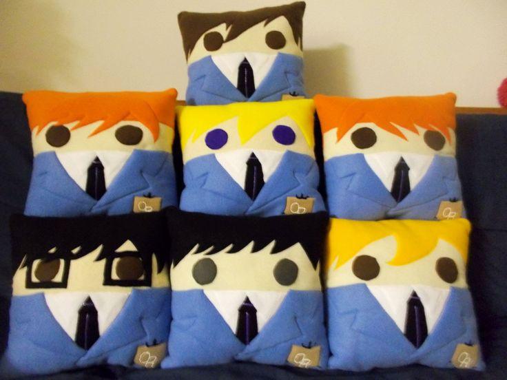 Ouran High School Host Club Pillows #anime #kawaii #merchandise