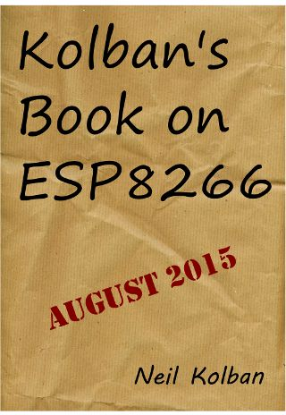 Kolban's book on the #ESP8266 Cover - Aug 2015 - small