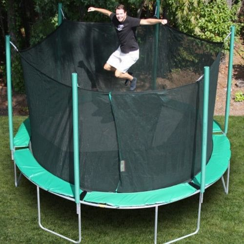 Magic Circle 13'6 FT Round Trampoline with Safety Enclosure Net