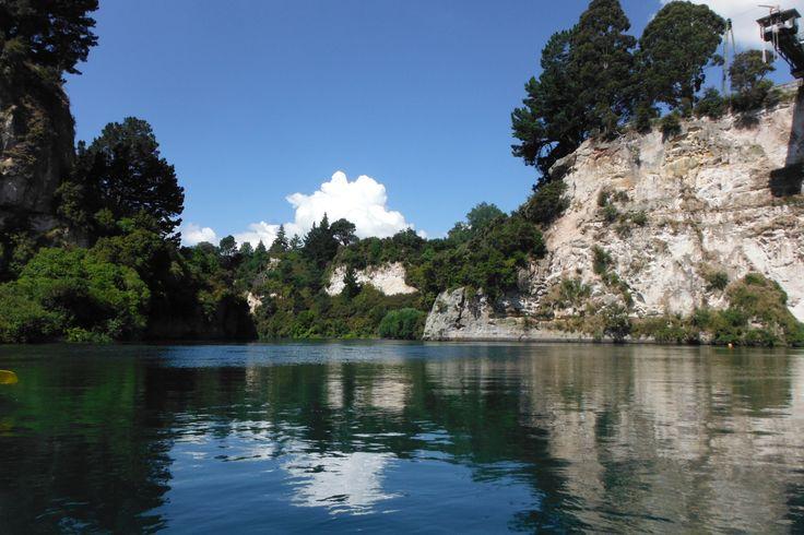 #canoeandkayak #Taupo #river #NewZealand #nature