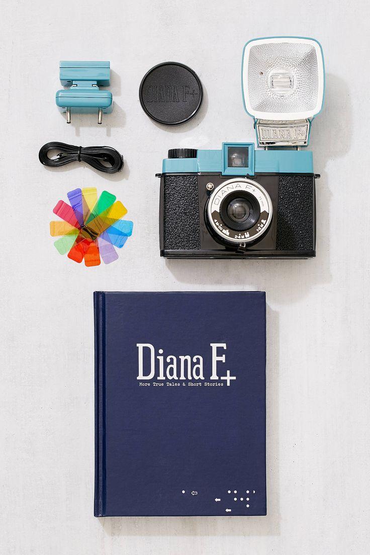 Slide View: 1: Lomography Diana Mini and Flash Set