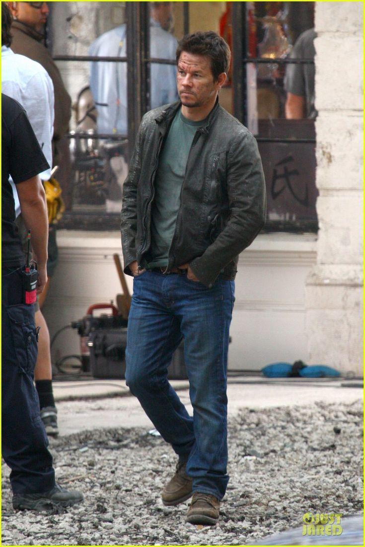 Mark Wahlberg on 'Transformers 4' Set