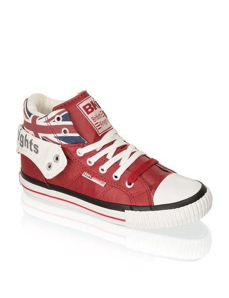British Knights Roco Union Jack - rot | Schuhe | Sneaker