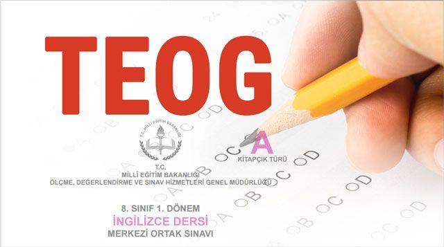 TEOG İngilizce sınavı hakkında bilmeniz gerekenler ve bazı önemli notlar...