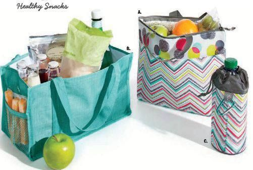 Use Thirty One bags and thermals to help you pack a healthy lunch!