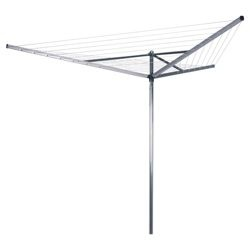 Check out Brabantia Rotary 3-arm 30 metre compact airer from Tesco direct