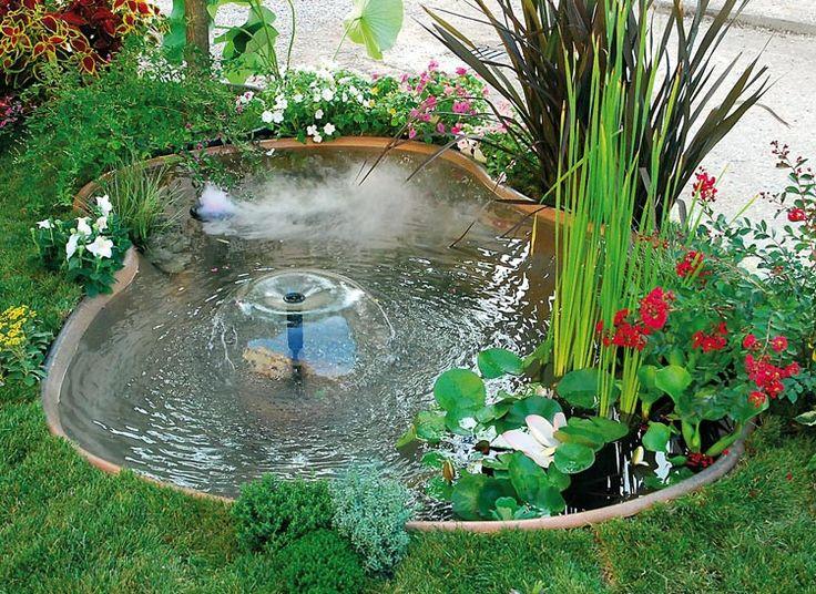 Oltre 25 fantastiche idee su laghetti da giardino su for Laghetto giardino vetroresina