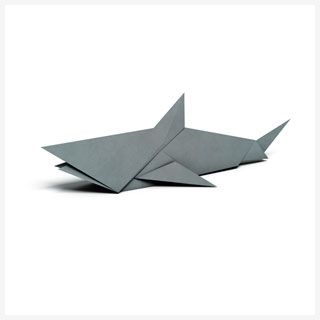 Origami Patterns | shark | WWF                                                                                                                                                      More