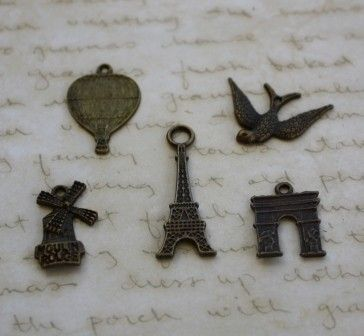Check out my items for sale on Craftumi - 50 x Mixed Charms Antique Bronze Style - by CreativeBirdSupplies on Craftumi