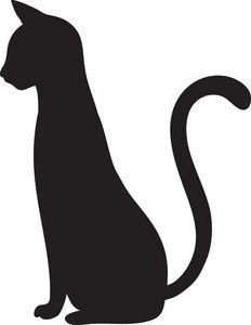 free cat silhouette clip art image clip art silhouette craft i halloween black - Black Cat Silhouette Halloween