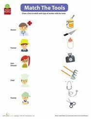 Resultado de imagen para community helpers worksheets for kindergarten