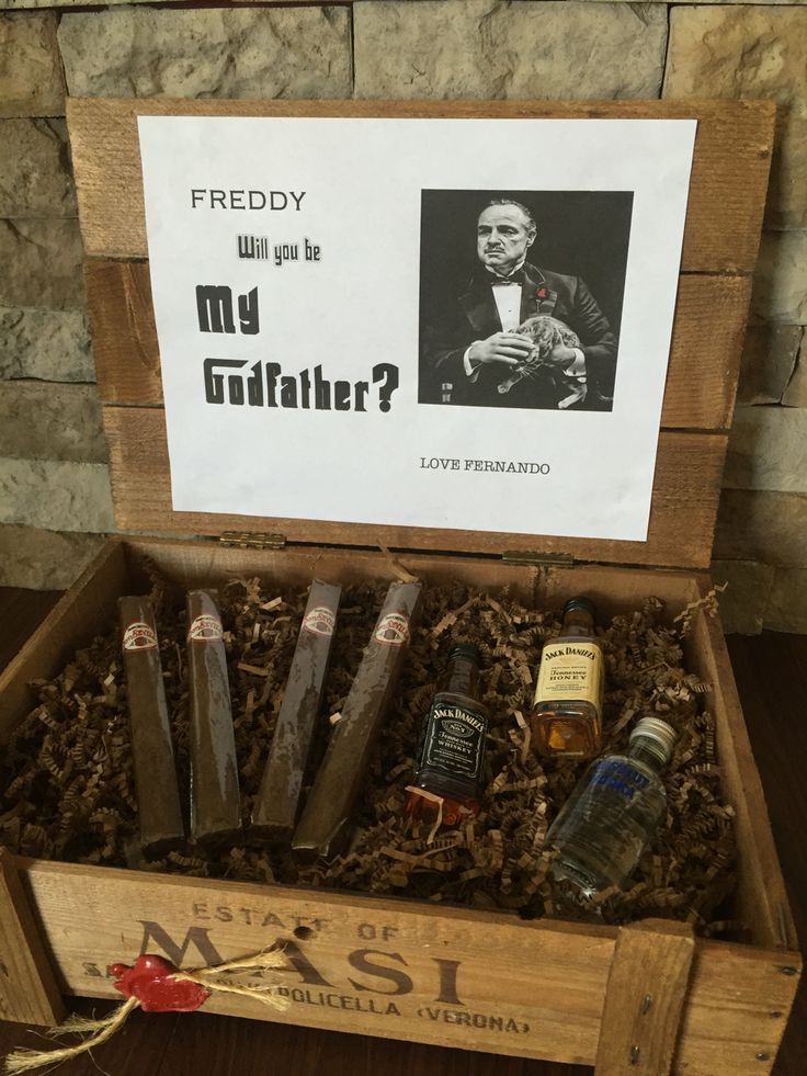 will you be my godfather      awesome way to ask your