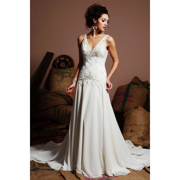 neck A Line Chiffon Wedding Dresses 2011 WA-00237 - Wedding Dresses ...