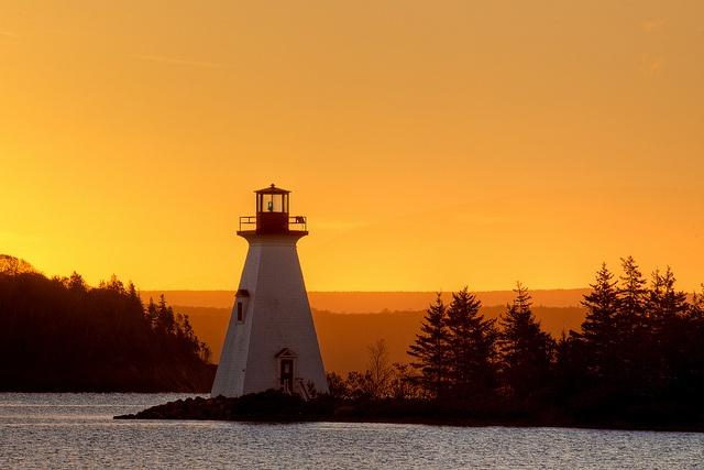 Baddeck, Nova Scotia lighthouse