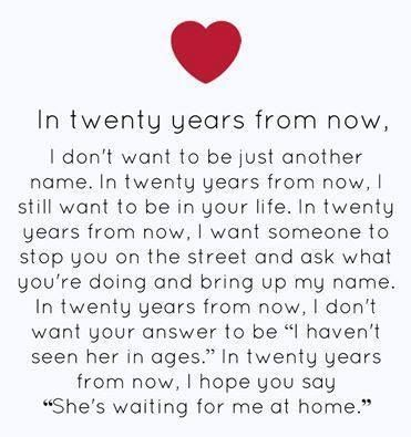 20 Years From Now