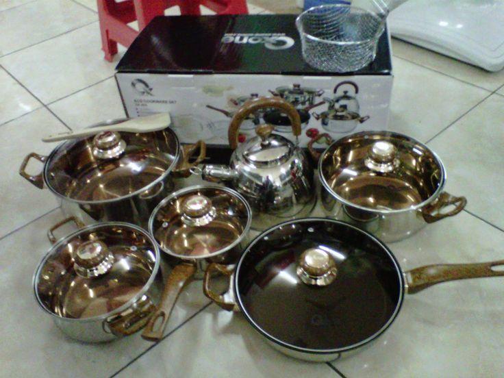 BG homeshoping Magelang: Oxone Eco Cookware Set 12+2pcs