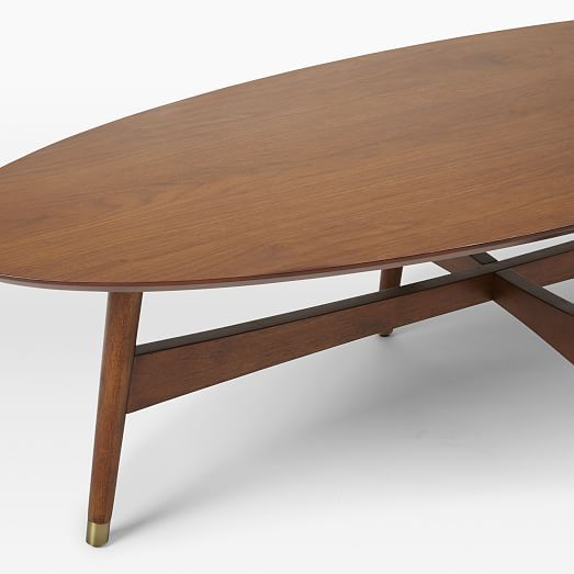Mid Century Two Tone Coffee Table By Weiman: Best 25+ Oval Coffee Tables Ideas On Pinterest