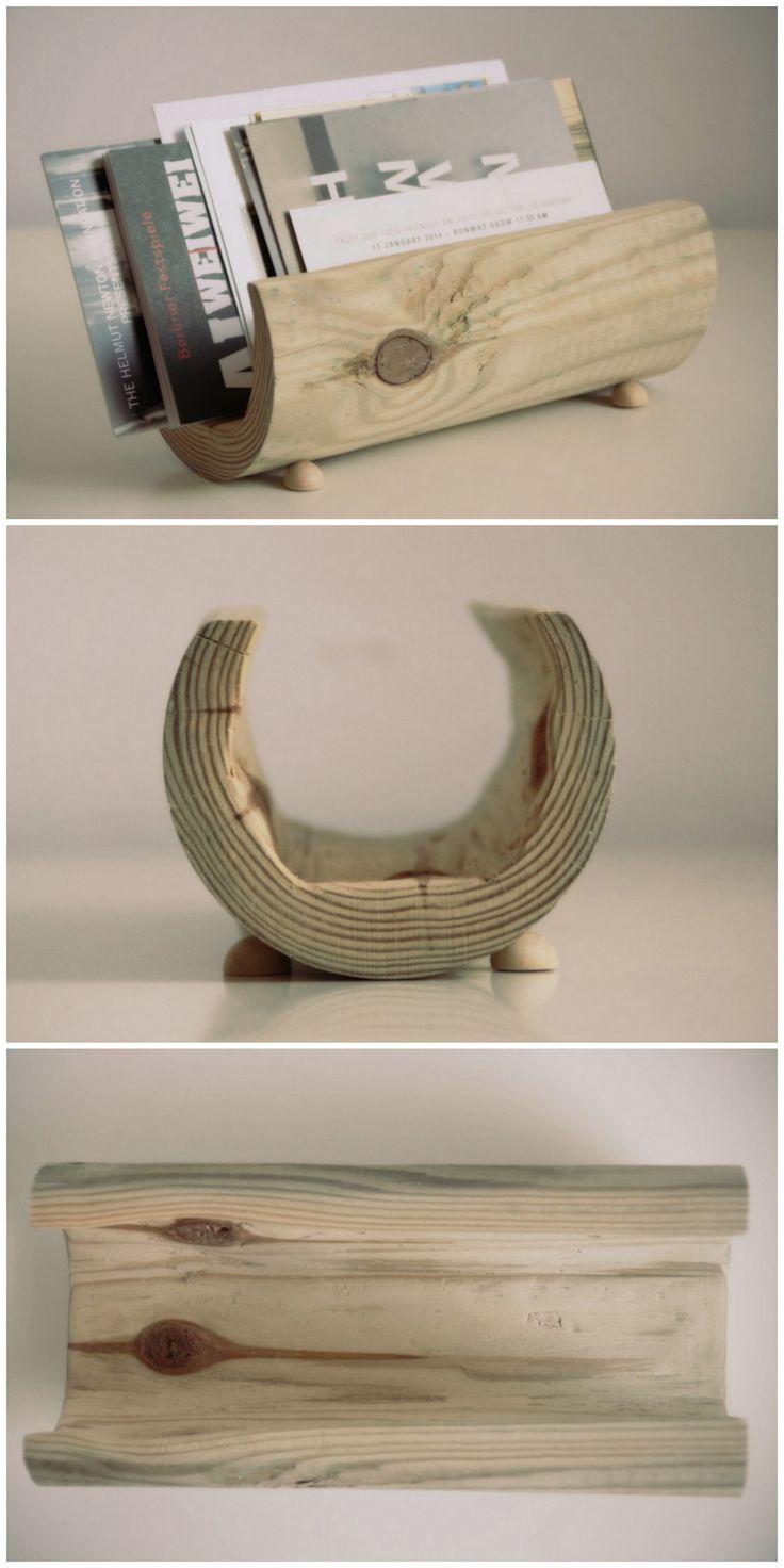Briefaufbewahrung aus Holz