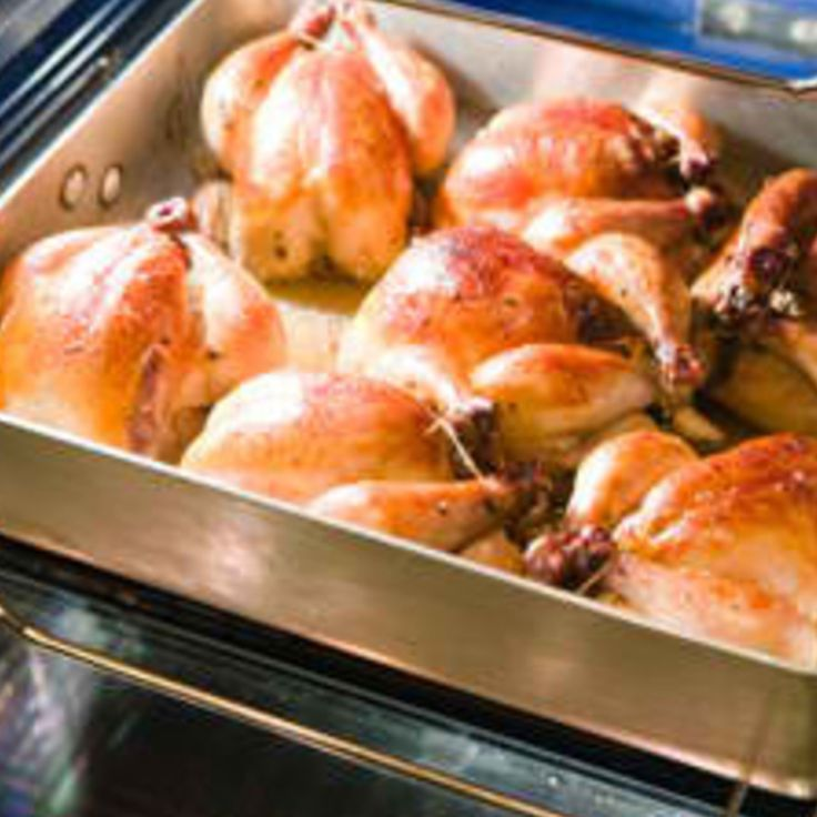 Drunken Cornish Hens! Recipe | Just A Pinch Recipes.....Made this last night and it was SO easy and super Yummy! Made the juice a gravy by adding flour, salt, garlic powder, onion poweder and a little more beer. So yummy!! Will for sure do again! ~tpg