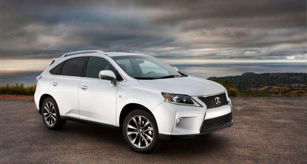 10 Best SUV Lease Deals Under $400 on October 2015 - 2015 Lexus RX 350