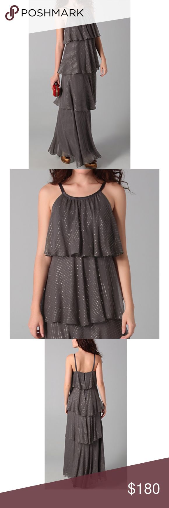 Milly Essie Hostess Dress, Size 6, Charcoal This one was purchased from shopbop …