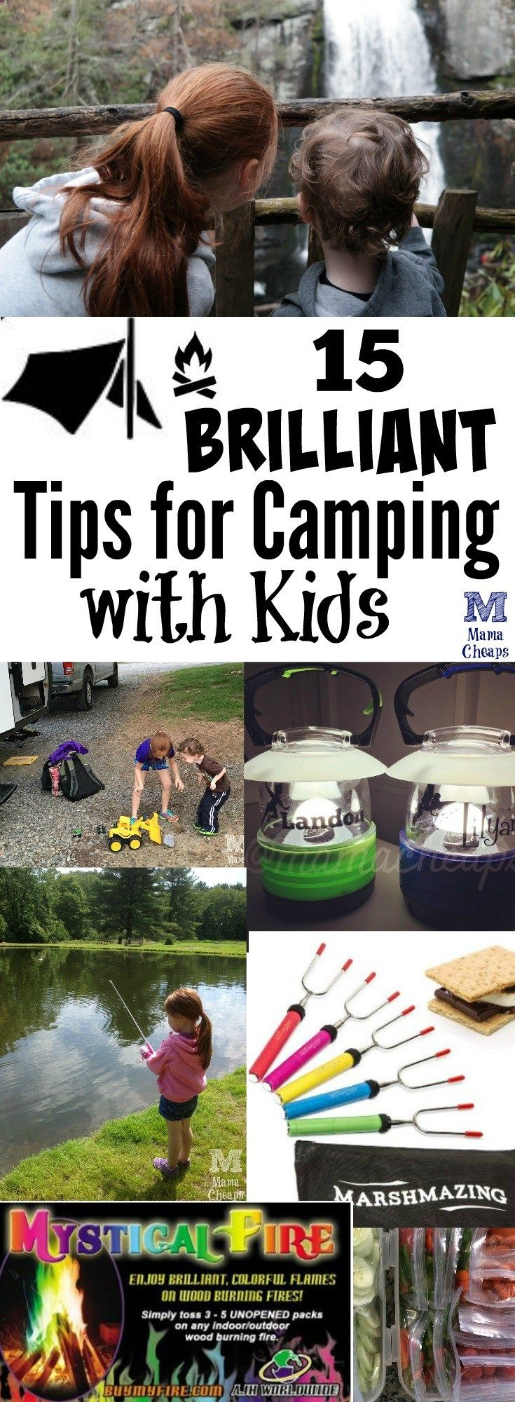 Camping Fun - 15 Brilliant Tips for Camping with Kids