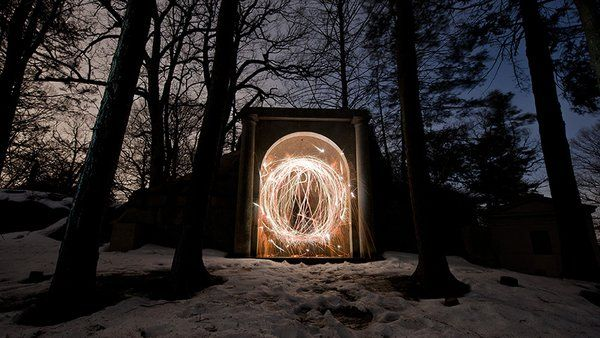 (19) Light Painting - Twitter Search