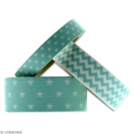 les 29 meilleures images du tableau masking tape gamme bleu sur pinterest ruban de masquage. Black Bedroom Furniture Sets. Home Design Ideas