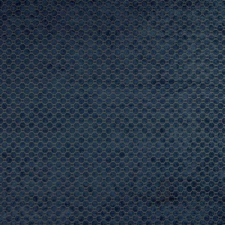 Warwick Fabrics : DRAKE OCEAN