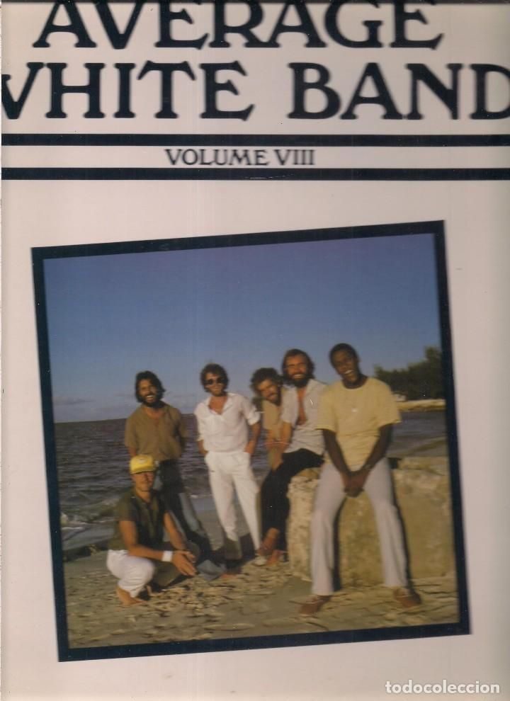 the average white band - volume VIII - original americano, atlantic records 1980