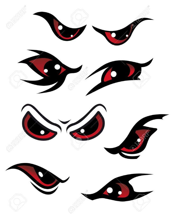 Scary Bloodshot Eyes Cartoon images & pictures - NearPics