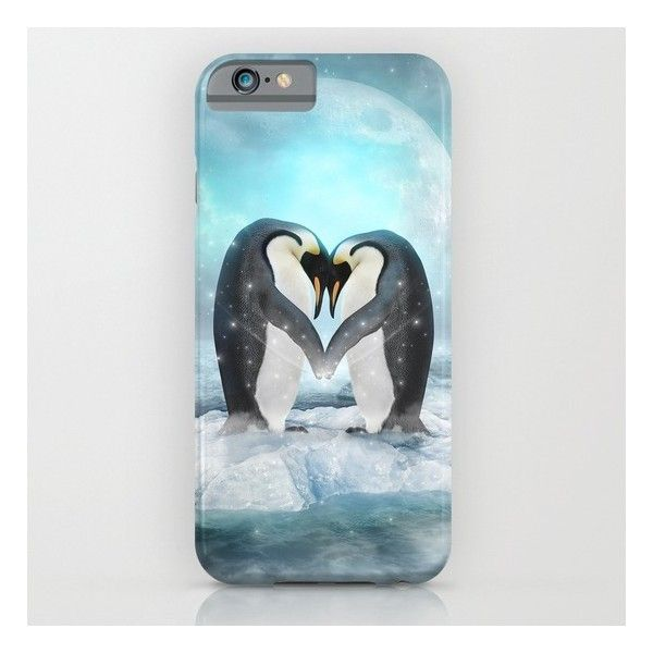 Listen Hard (penguin Dreams) iPhone 6s Case ($35) ❤ liked on Polyvore featuring accessories, tech accessories and iphone & ipod cases